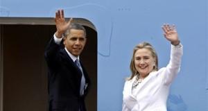 En la imagen, el presidente estadounidense, Barack Obama, y la Secretaria de Estado, Hillary Clinton. EFE/Archivo
