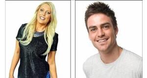 Imagen cedida por la emisora Southern Cross Austereo, de los presentadores de la cadena 2DayFM Mel Greig (i) y Michael Christian, en Sidney, Australia. EFE/Archivo