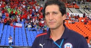 El director técnico de la selección sub-20 de Chile, Mario Salas. EFE