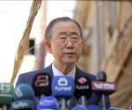 """El secretario general de la ONU, Ban Ki-moon, también condenó estos hechos, que atribuyó a """"diversos actores no estatales, incluido el Frente al Nusra"""", un grupo próximo a Al Qaeda. EFE/Archivo"""