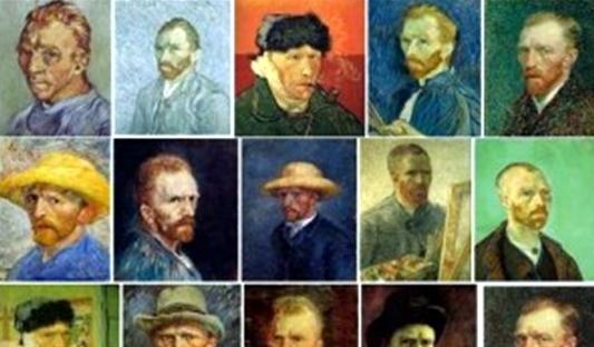 Vincent van Gogh, jamás se me hubiera ocurrido que esta práctica no es tan exclusiva de esta era tecnológica.