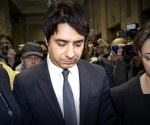 En la imagen,  El periodista radiofónico canadiense Jian Ghomeshi,