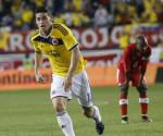 Imagen del jugador del la selección Colombia James Rodriguez . EFE/Archivo