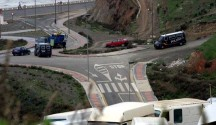 Controles policiales en Ceuta. EFE/Archivo