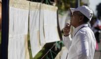 Salvadoreños acuden a las urnas este domingo 1 de marzo de 2015 al Centro Internacional de Ferias y Convenciones (CIFCO) en San Salvador, para elegir a sus representantes municipales, a los miembros de la Asamblea Legislativa y a los 20 diputados de El Salvador para el Parlamento Centroamericano. EFE