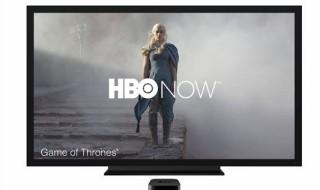 Fotografía facilitada el pasado 9 de marzo por el gigante tecnológico Apple que muestra el servicio HBO Now en una pantalla a través de un reproductor Apple TV, durante una rueda de prensa que la compañía ofreció en San Francisco (California, EE.UU.). EFE/Archivo