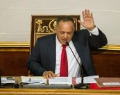 En la imagen, el presidente de la Asamblea Nacional de Venezuela (AN, Parlamento unicameral), Diosdado Cabello. EFE/Archivo