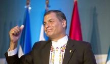 n la imagen, el mandatario de Ecuador, Rafael Correa. EFE/Archivo