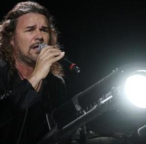 El vocalista de Maná, Fher Olvera. EFE/Archivo