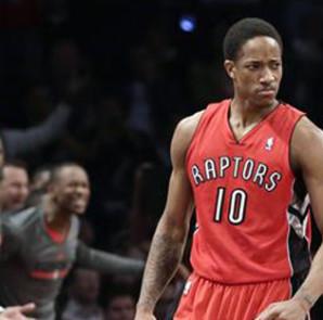 El escolta DeMar DeRozan encestó 23 puntos y los líderes Raptors de Toronto vencieron 106-89 a los Knicks de Nueva York. EFE/Archivo