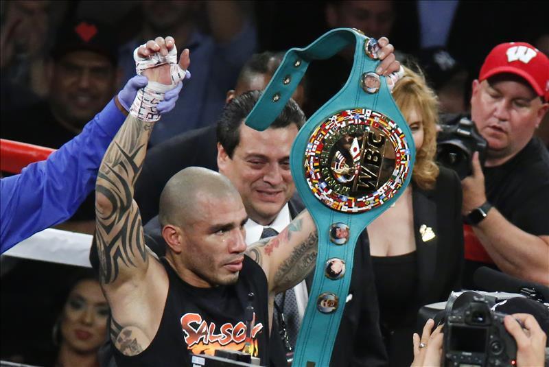 El boxeador de Puerto Rico, Miguel Cotto. EFE/Archivo