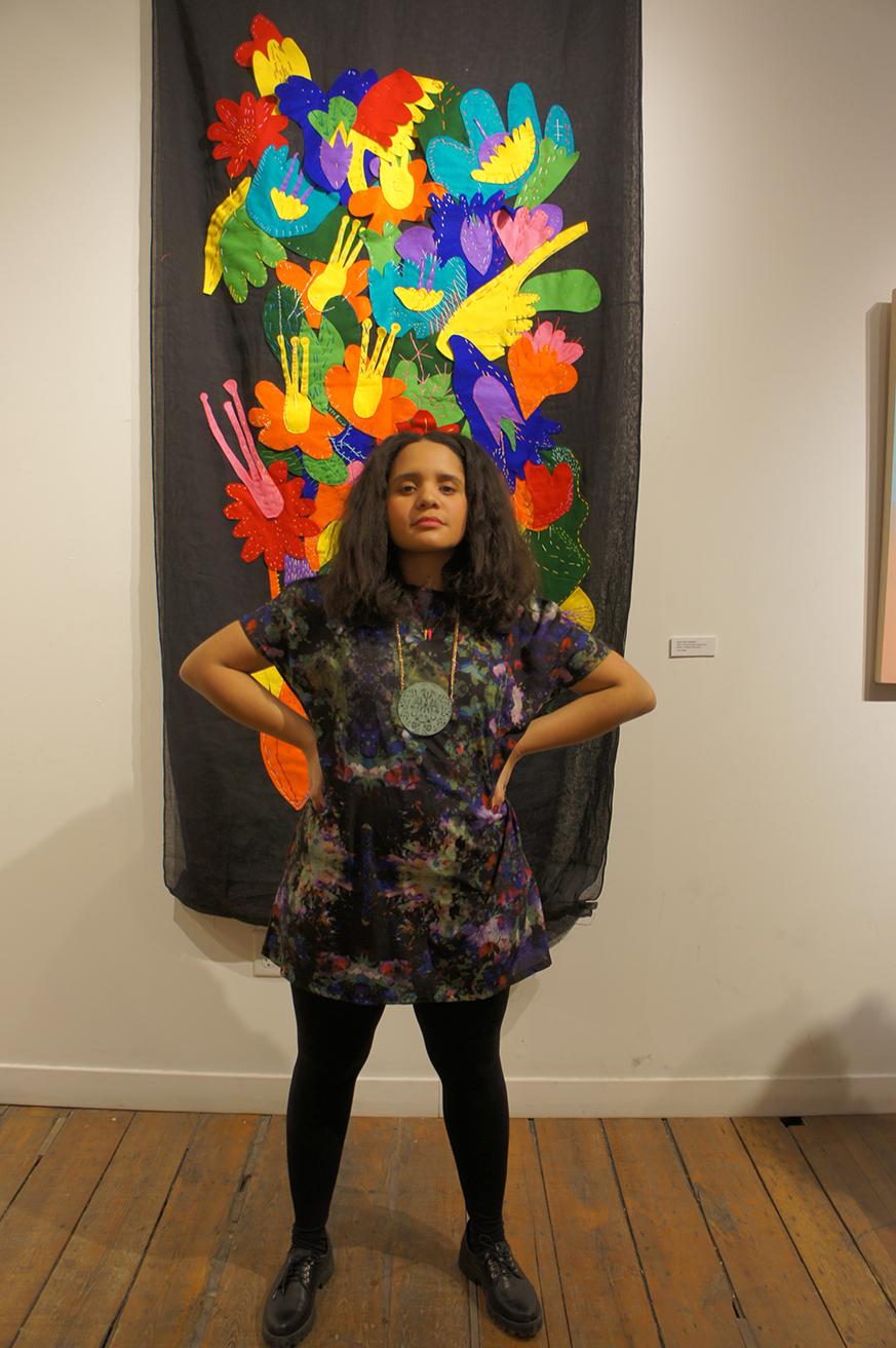 La imagen la artista latina Lido Pimienta