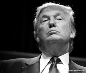 El Candidato republicano Donald Trump
