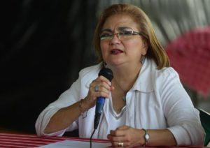 La procuradora para la Defensa de los Derechos Humanos (PDDH) de El Salvador, Raquel Caballero. EFE/Archivo
