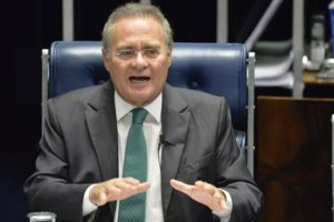 En la imagen, el presidente del Senado brasileño, Renan Calheiros. EFE/Archivo