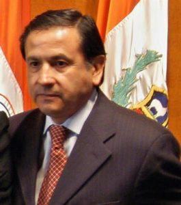 El embajador Héctor Casanueva Ojeda. EFE/Archivo