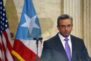 En la imagen, el saliente gobernador de Puerto Rico, Alejandro García Padilla. EFE/Archivo