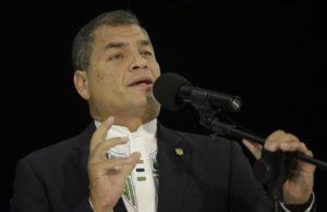 Rafael Correa, presidente de Ecuador. EFE/Archivo